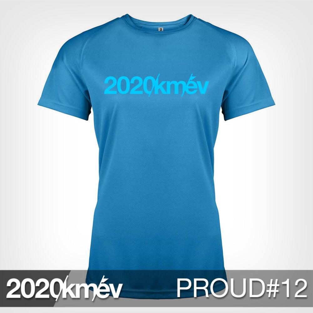 2020 / év / km - PROUD 12 póló - NŐI