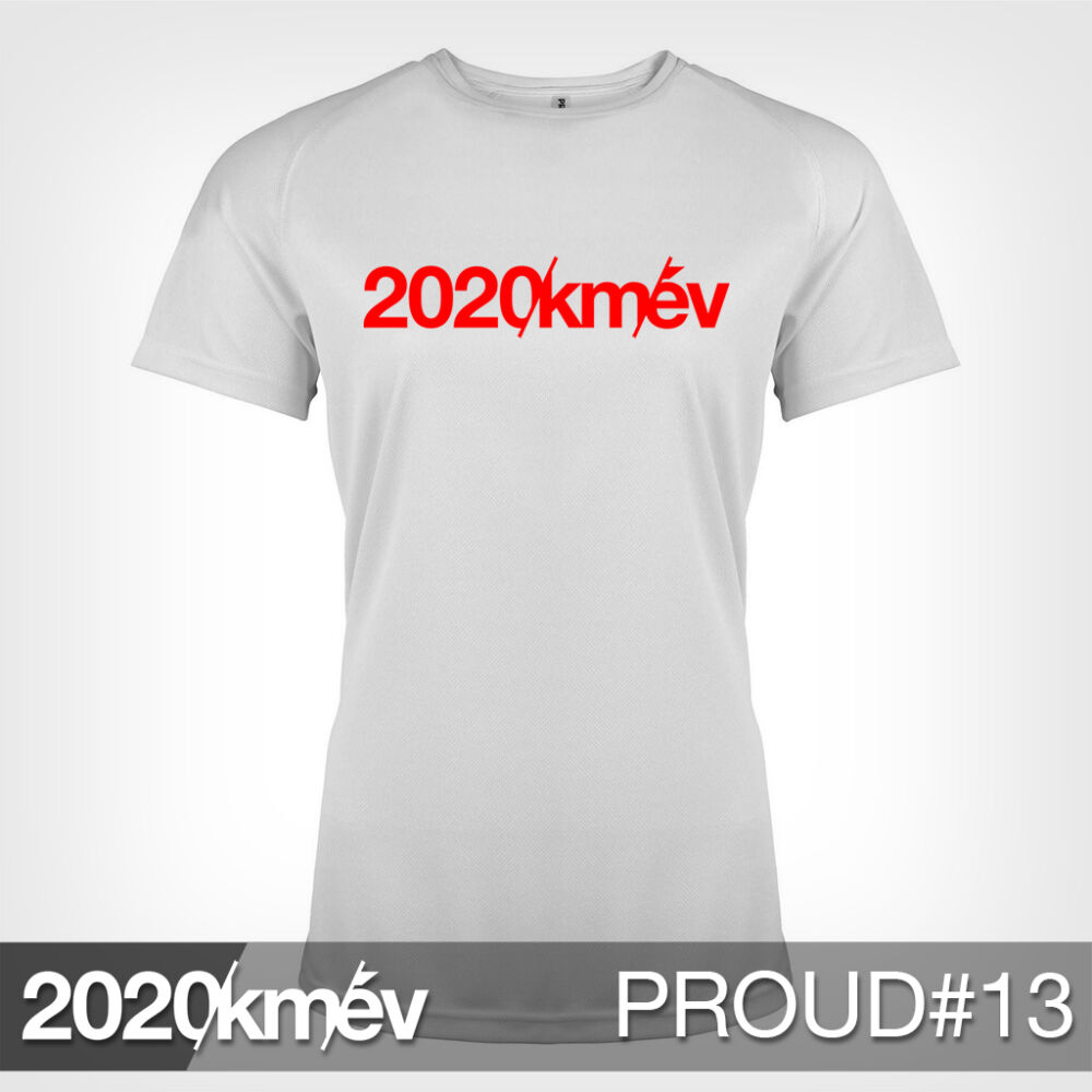 2020 / év / km - PROUD 13 póló - NŐI