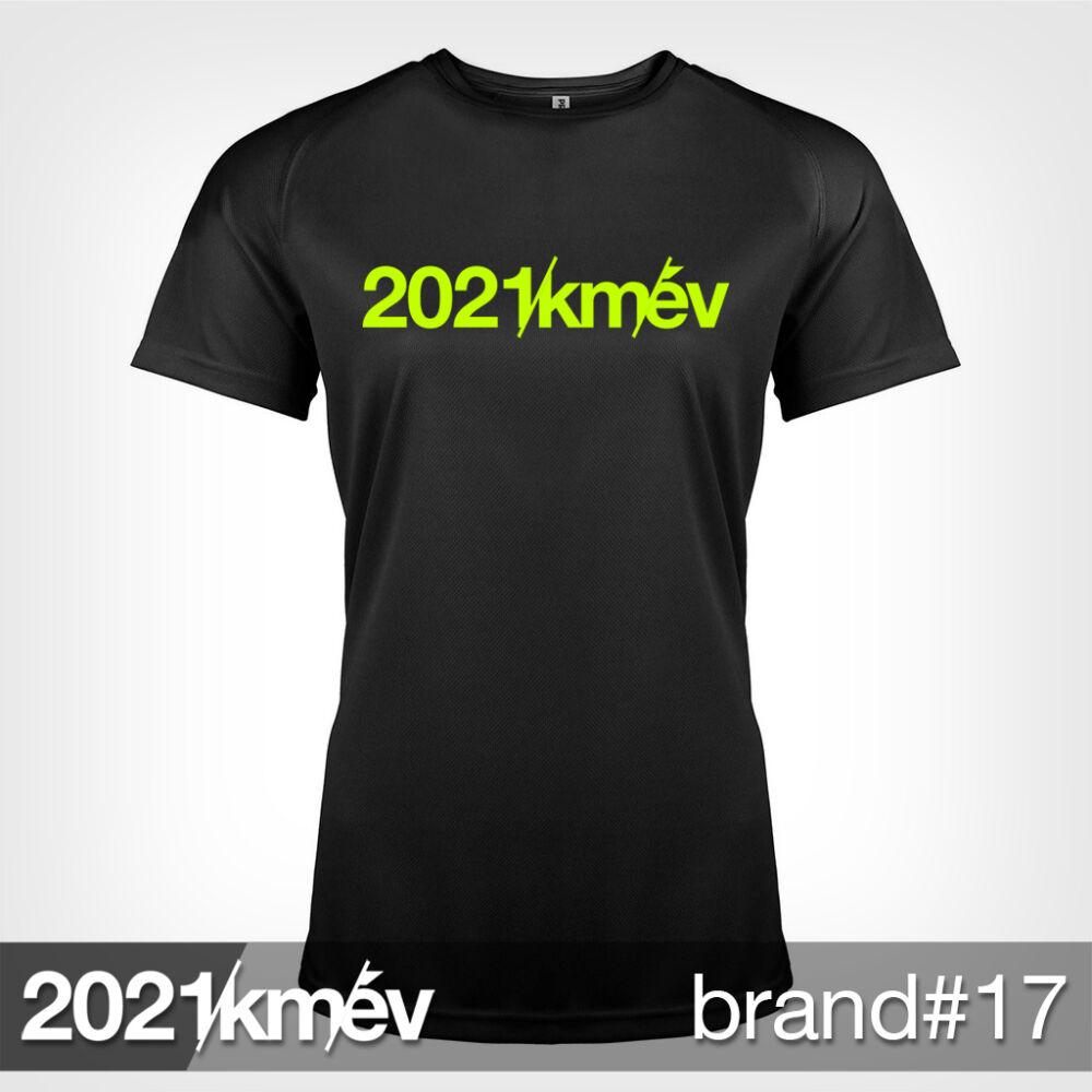 2021 / év / km - BRAND 17 póló - NŐI