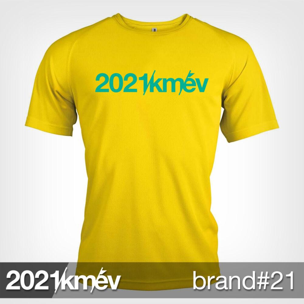 2021 / év / km - BRAND 21 póló - FÉRFI