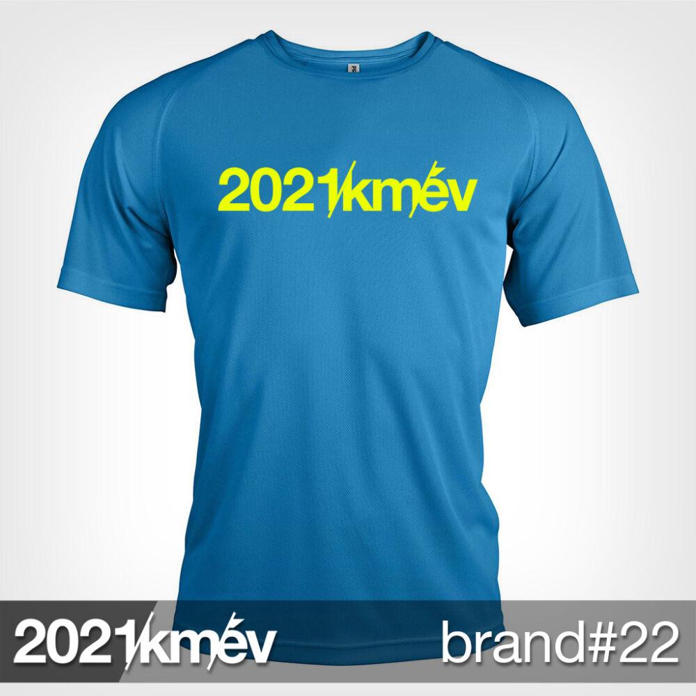 2021 / év / km - BRAND 22 póló - FÉRFI