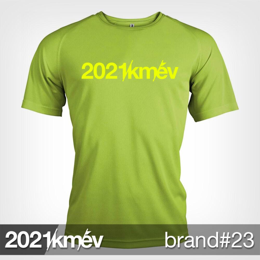 2021 / év / km - BRAND 23 póló - FÉRFI