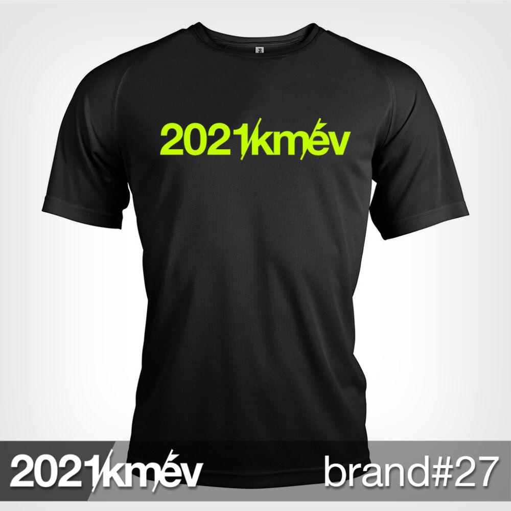 2021 / év / km - BRAND 27 póló - FÉRFI