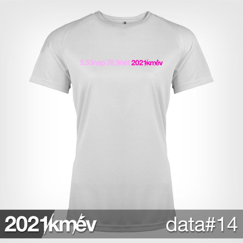 2021 / év / km - DATA 14 póló - NŐI