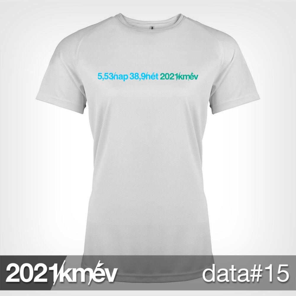 2021 / év / km - DATA 15 póló - NŐI