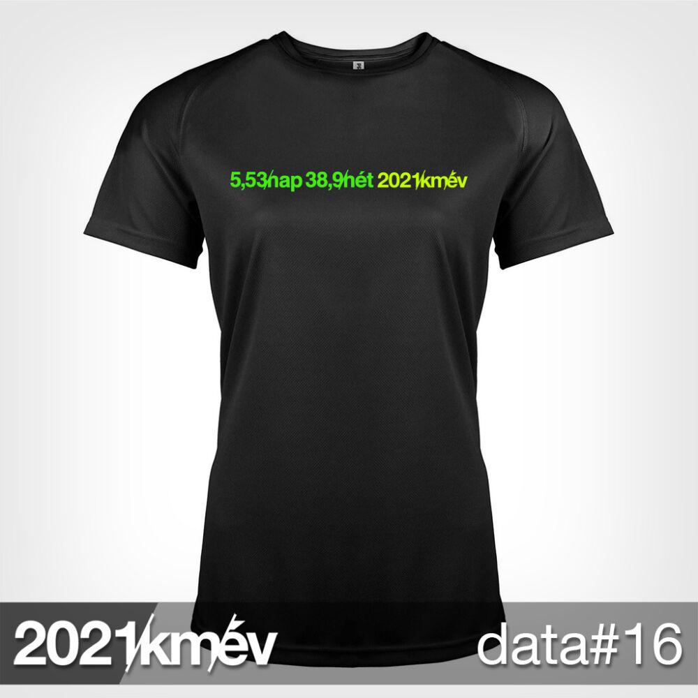 2021 / év / km - DATA 16 póló - NŐI