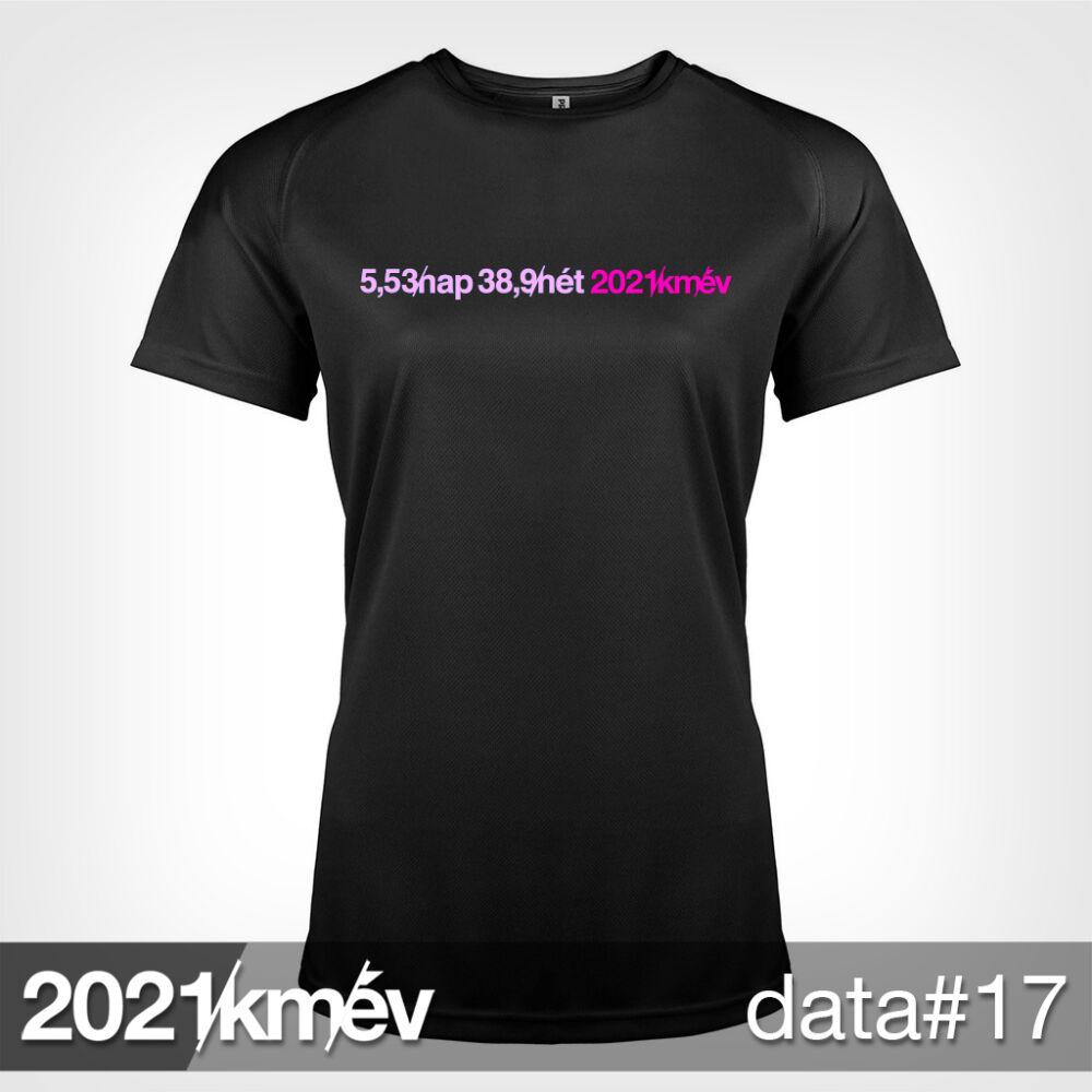 2021 / év / km - DATA 17 póló - NŐI