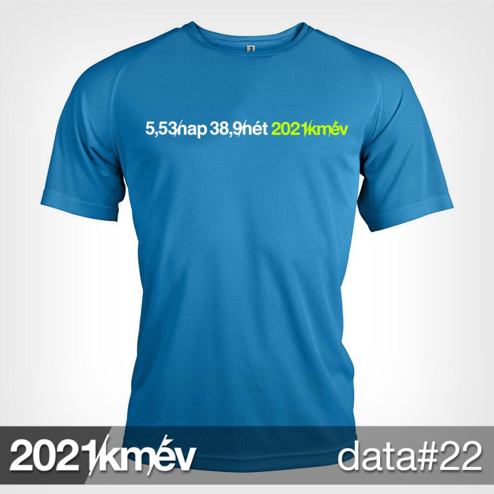 2021 / év / km - DATA 22 póló - FÉRFI