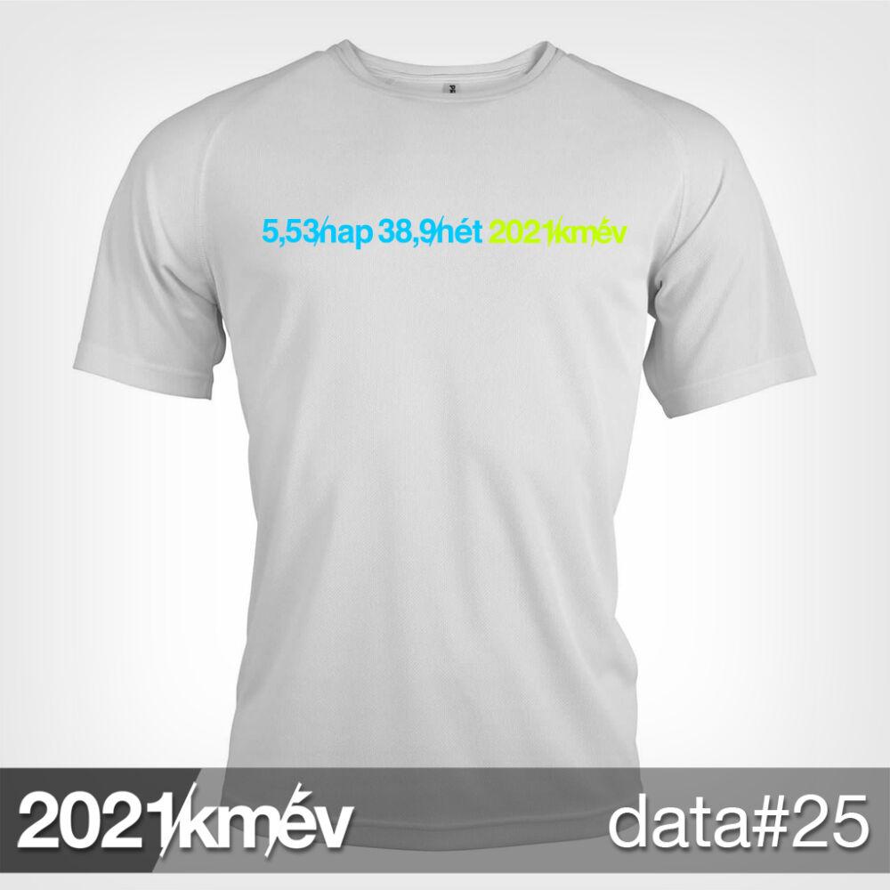2021 / év / km - DATA 25 póló - FÉRFI