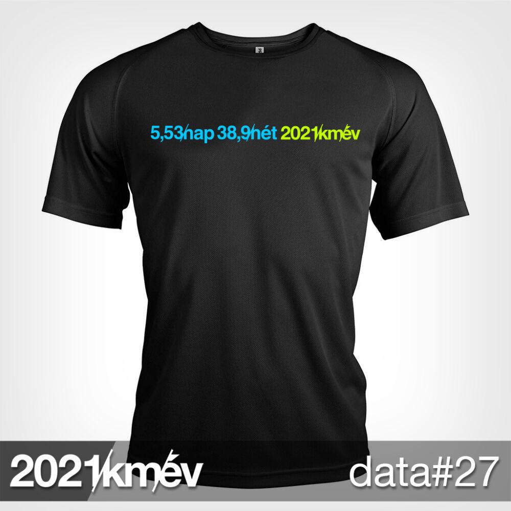 2021 / év / km - DATA 27 póló - FÉRFI