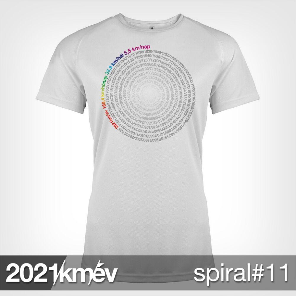 2021 / év / km - SPIRÁL 11 póló - NŐI