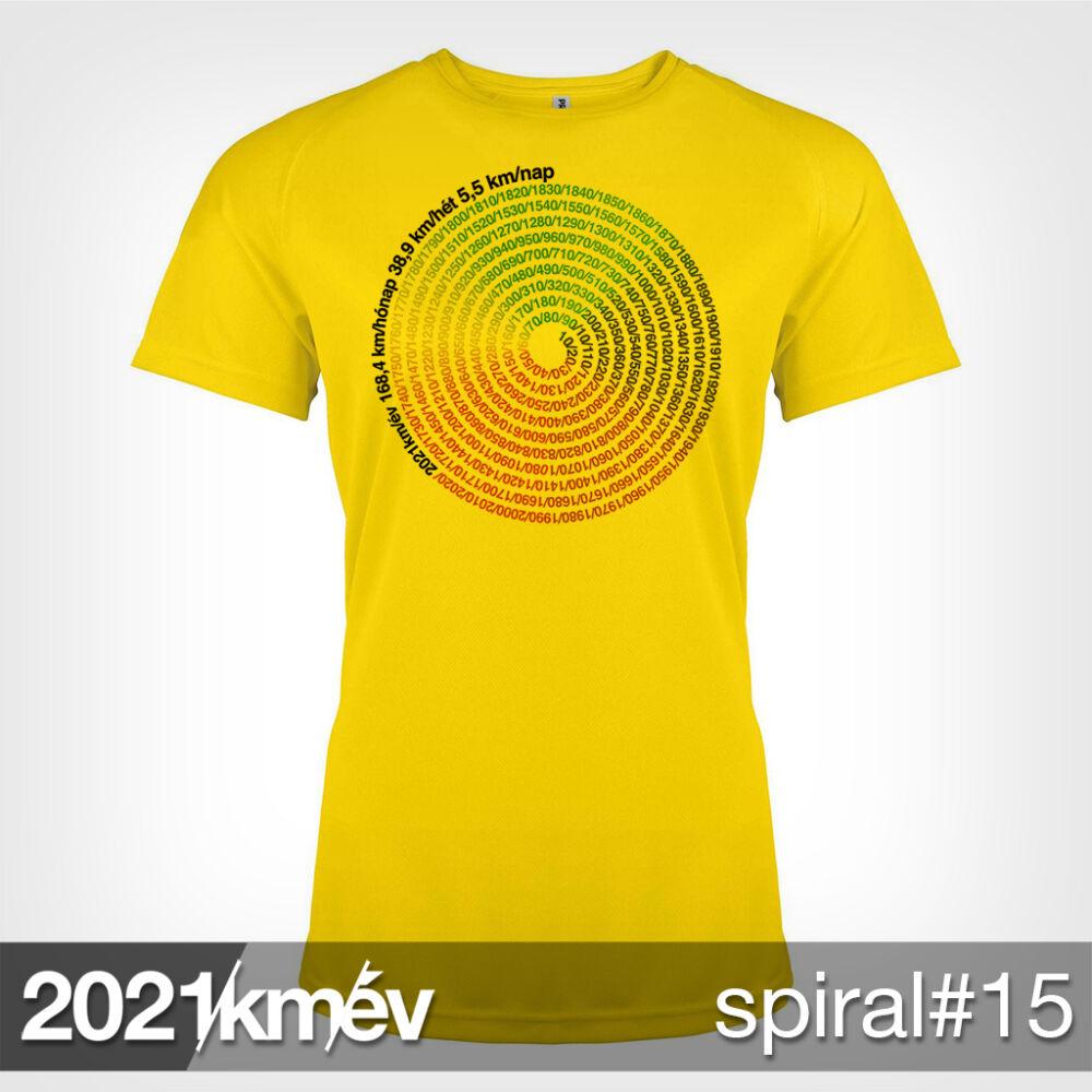 2021 / év / km - SPIRÁL 15 póló - NŐI