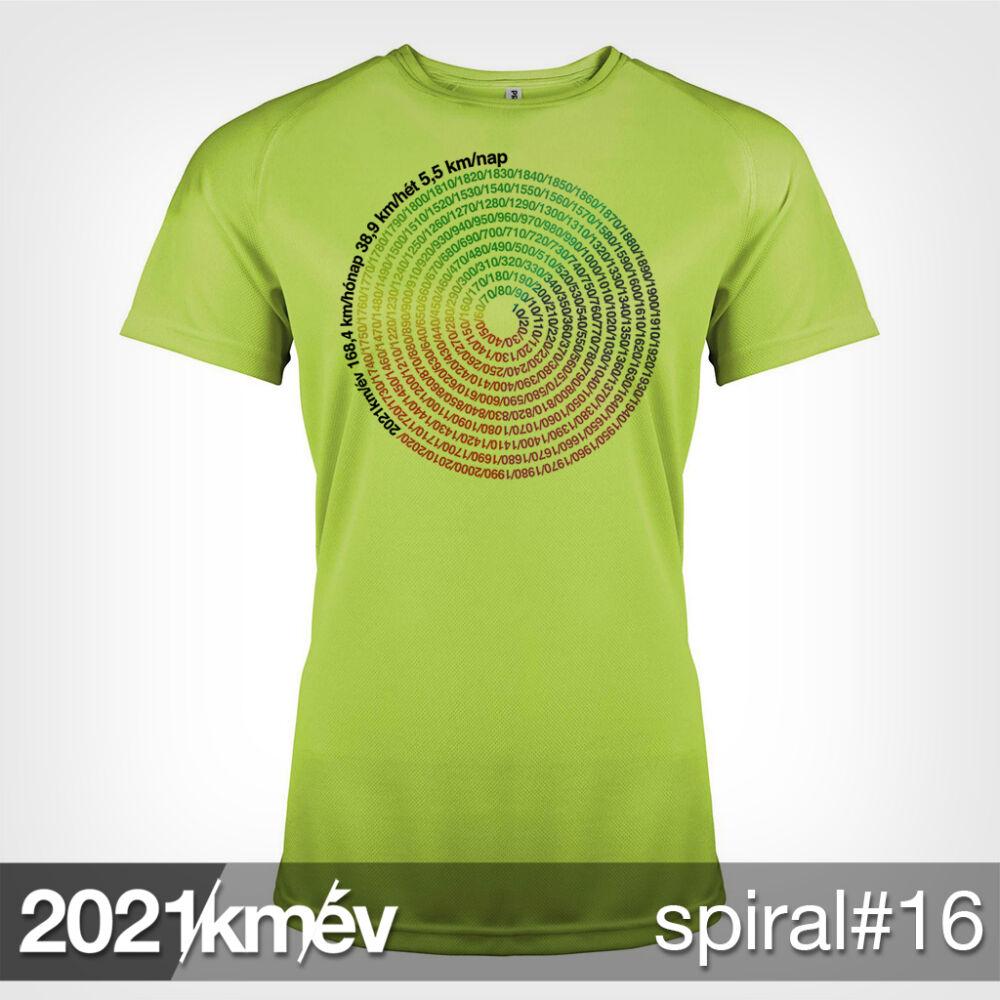 2021 / év / km - SPIRÁL 16 póló - NŐI