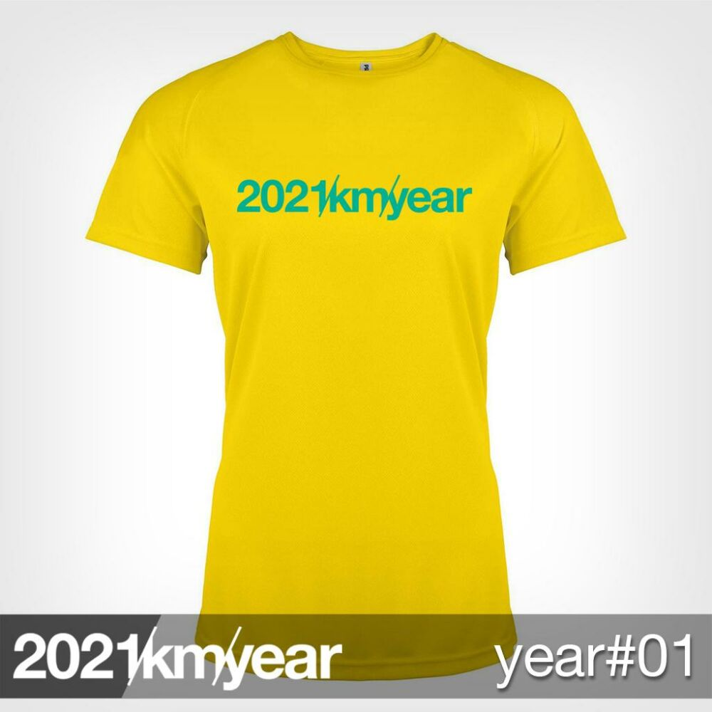 2021 / year / km - YEAR 01 t-shirt - WOMAN