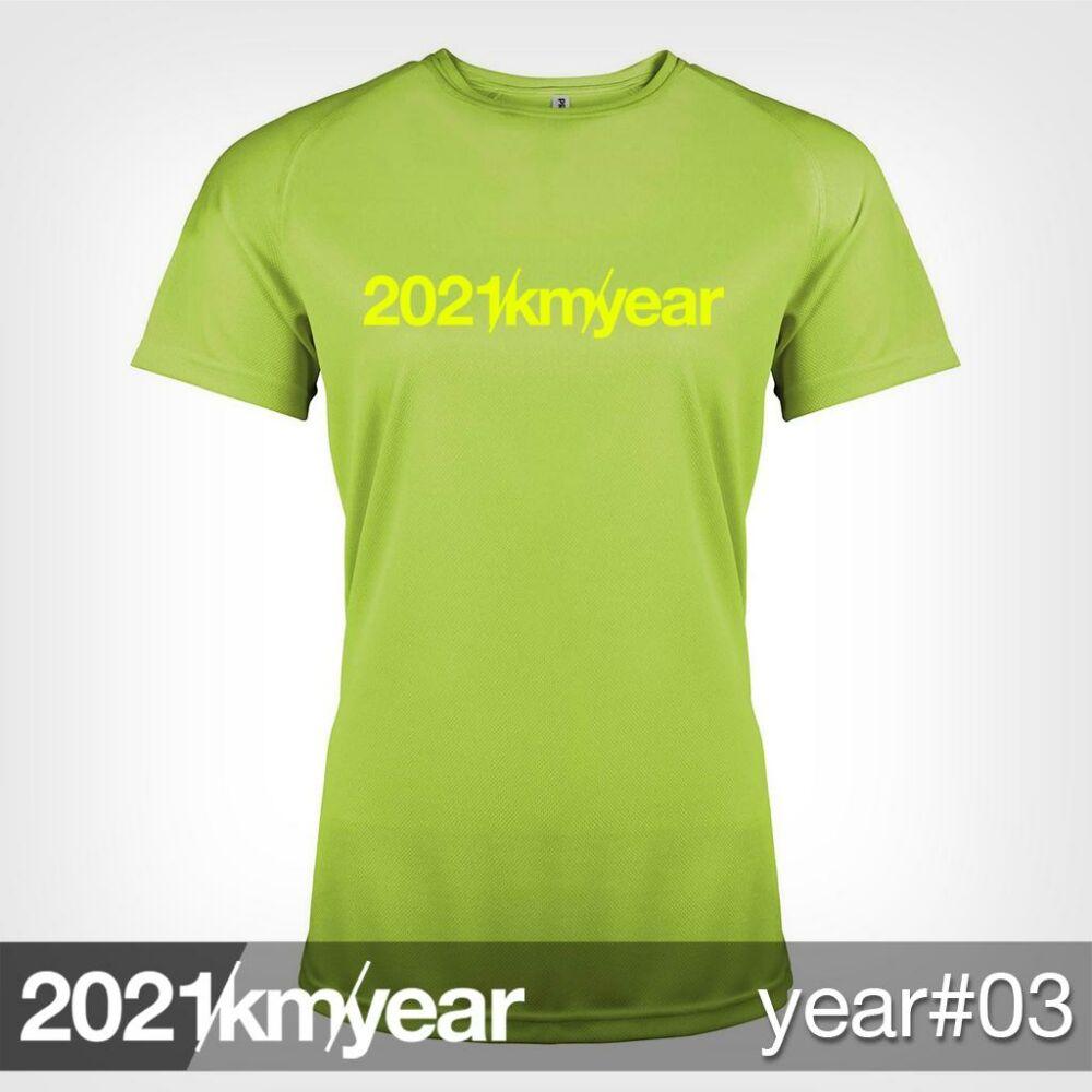 2021 / year / km - YEAR 03 t-shirt - WOMAN