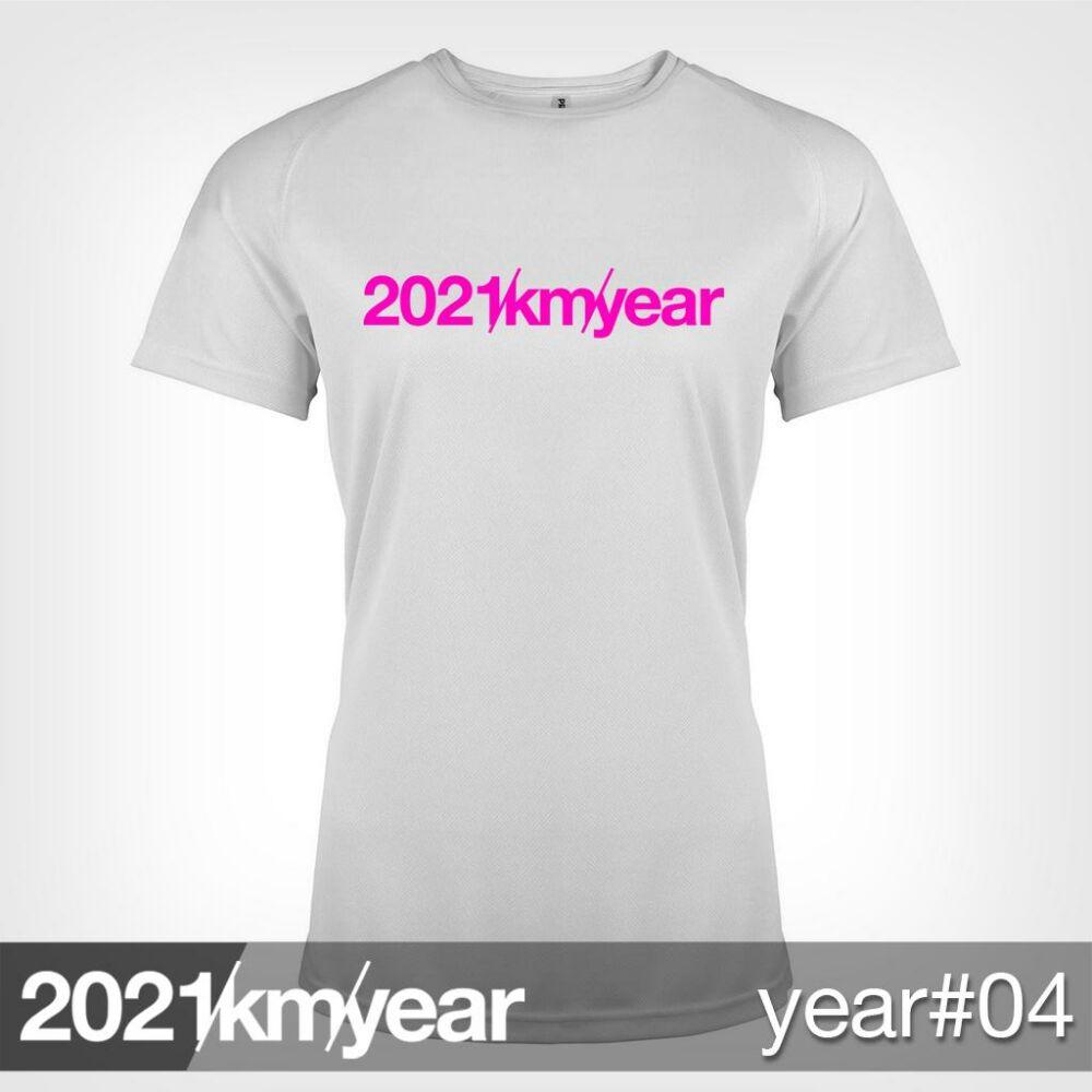 2021 / year / km - YEAR 04 t-shirt - WOMAN