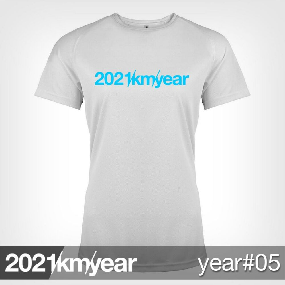 2021 / year / km - YEAR 05 t-shirt - WOMAN
