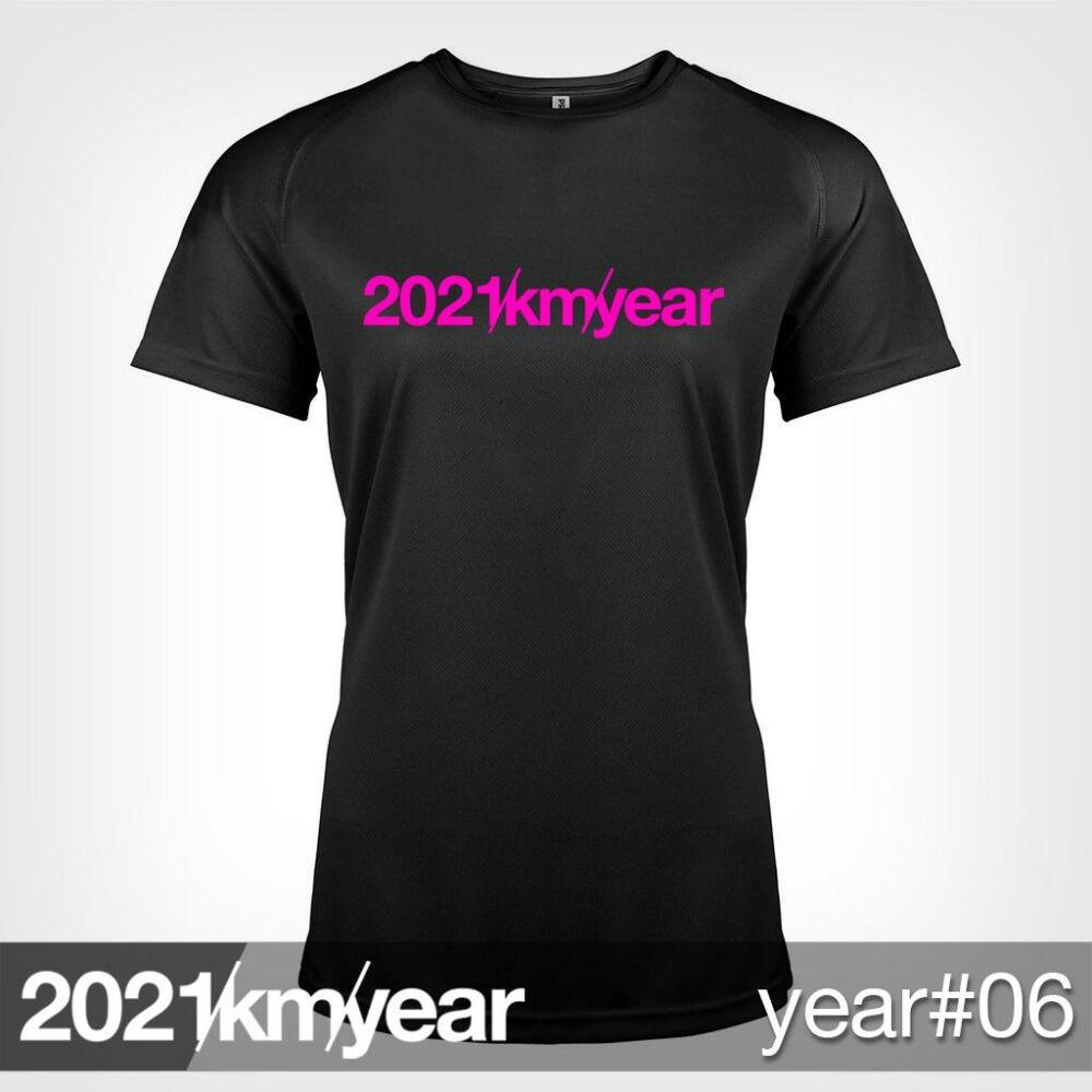 2021 / year / km - YEAR 06 t-shirt - WOMAN