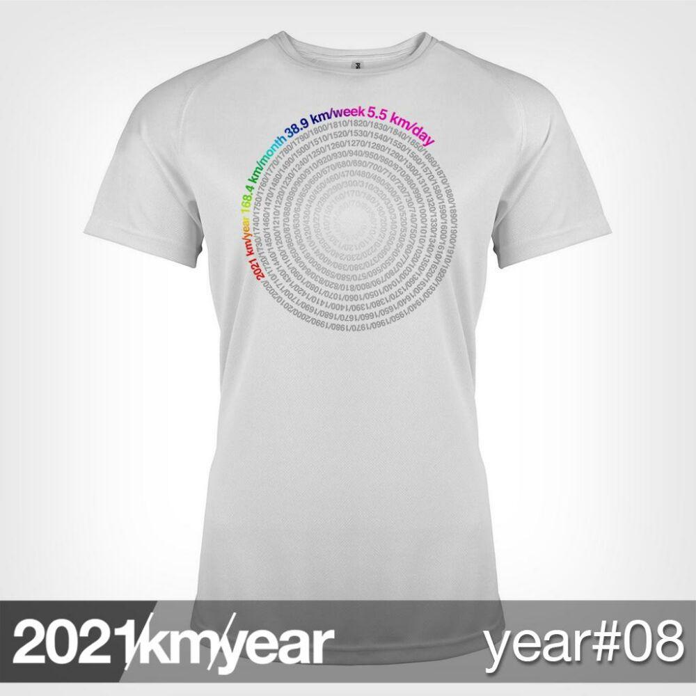 2021 / year / km - YEAR 08 t-shirt - WOMAN