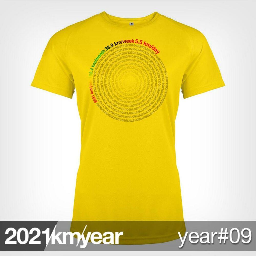 2021 / year / km - YEAR 09 t-shirt - WOMAN
