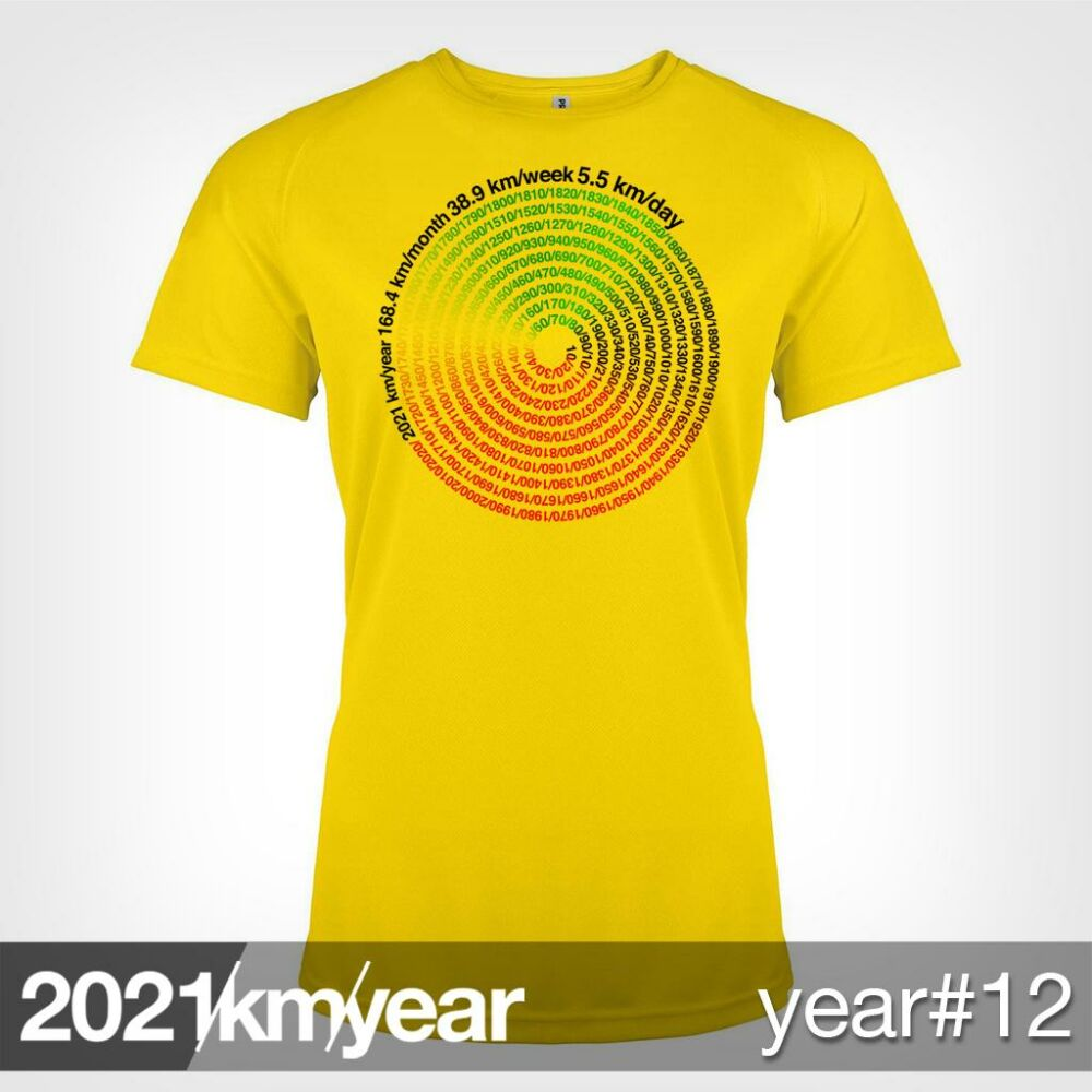 2021 / year / km - YEAR 12 t-shirt - WOMAN