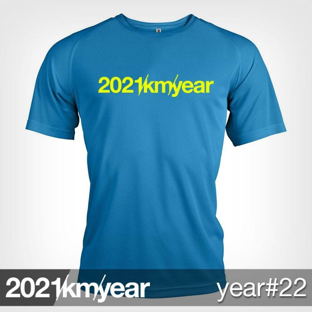 2021 / year / km - YEAR 22 t-shirt - MAN