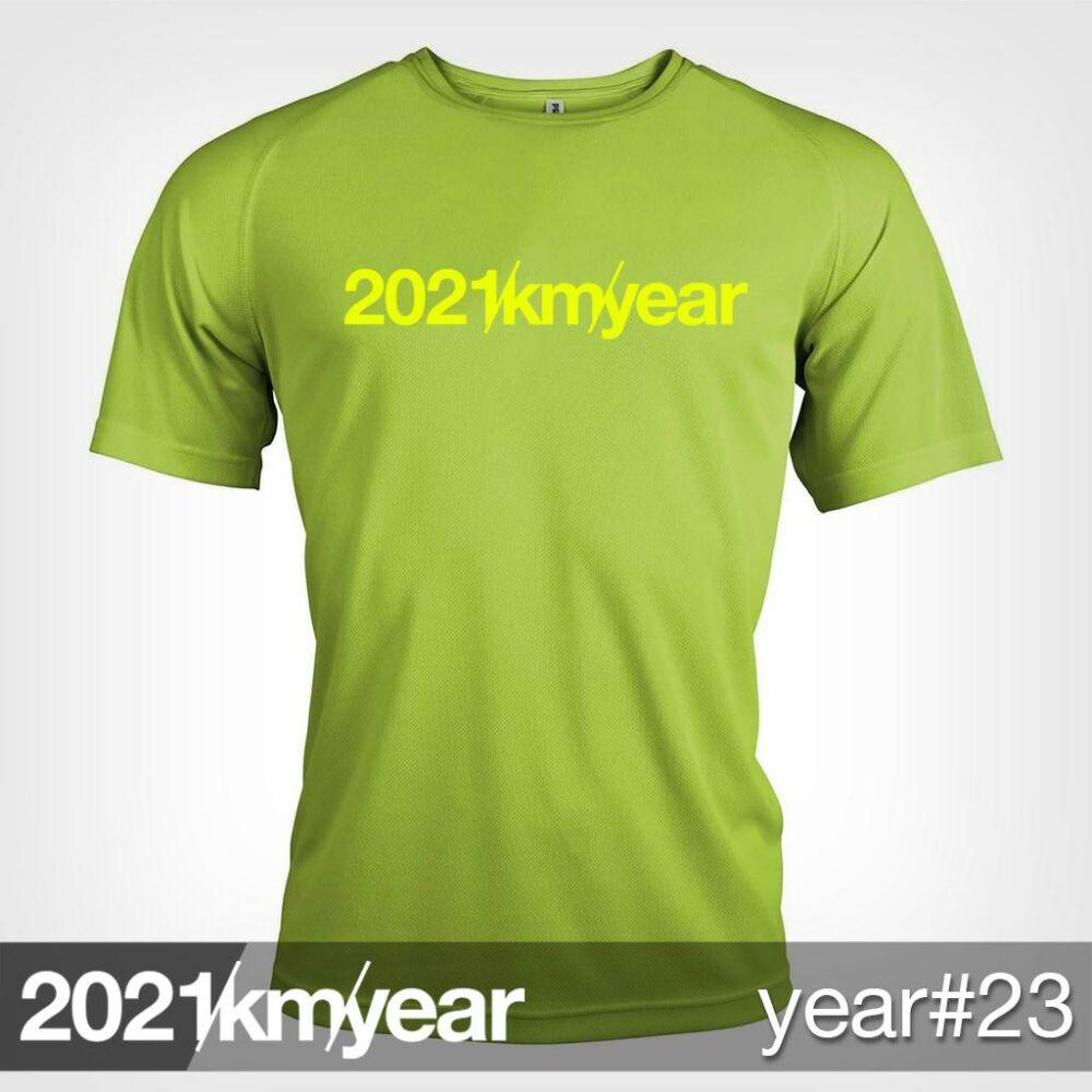2021 / year / km - YEAR 23 t-shirt - MAN