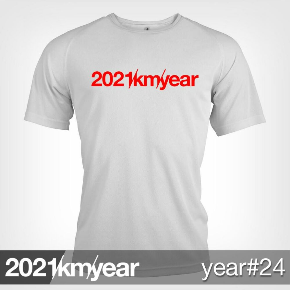2021 / year / km - YEAR 24 t-shirt - MAN