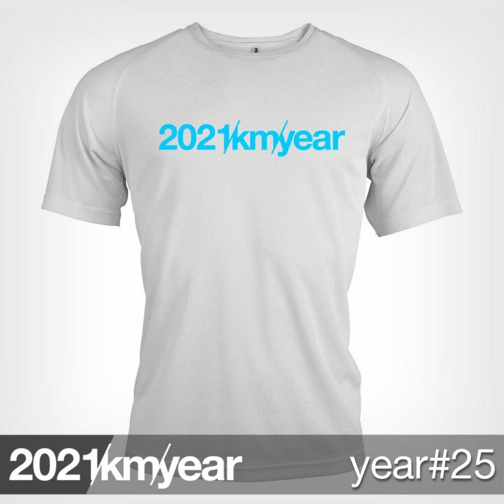 2021 / year / km - YEAR 25 t-shirt - MAN