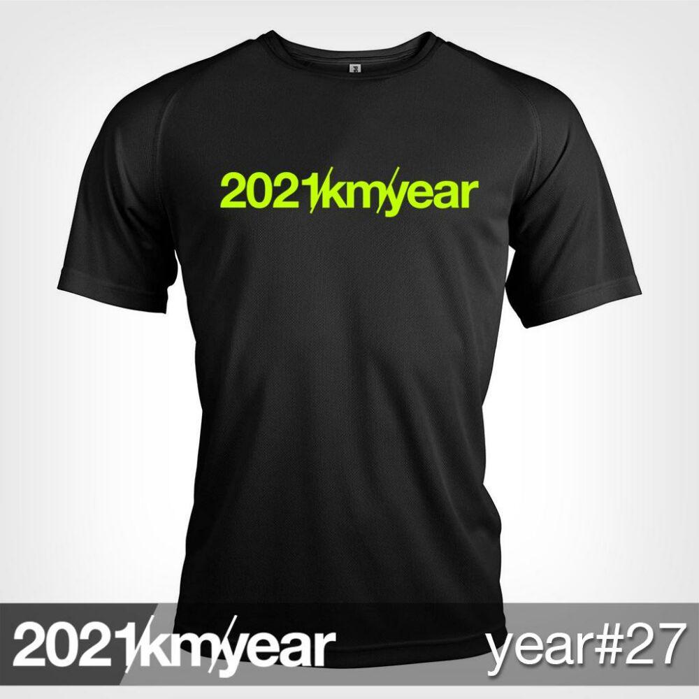 2021 / year / km - YEAR 27 t-shirt - MAN