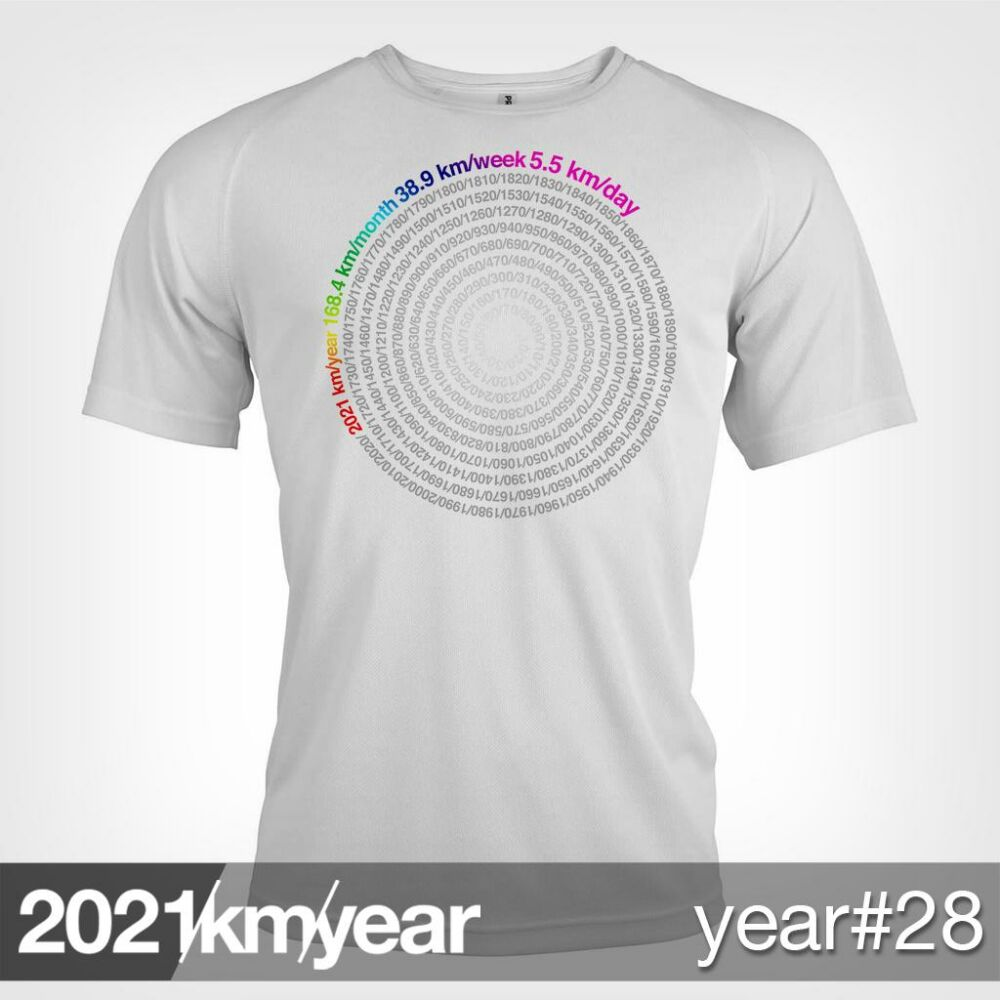 2021 / year / km - YEAR 28 t-shirt - MAN