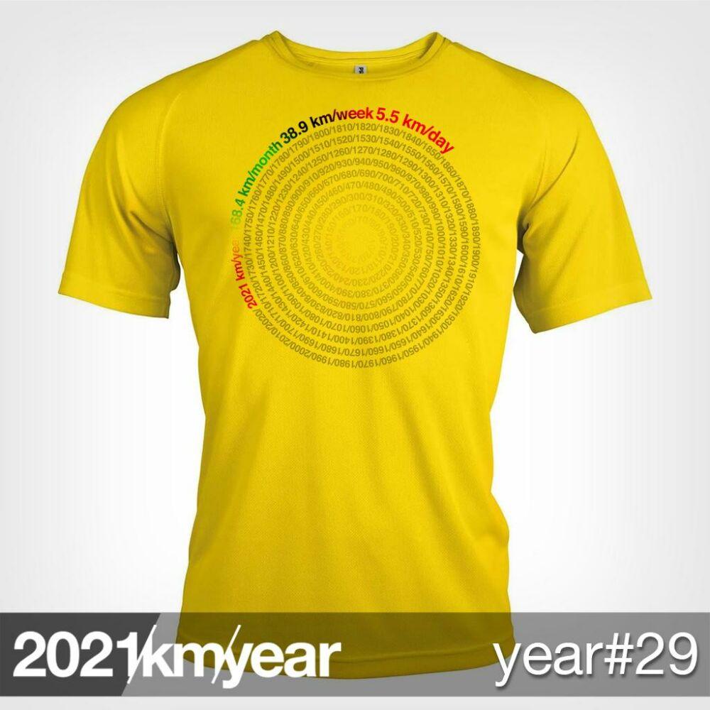 2021 / year / km - YEAR 29 t-shirt - MAN