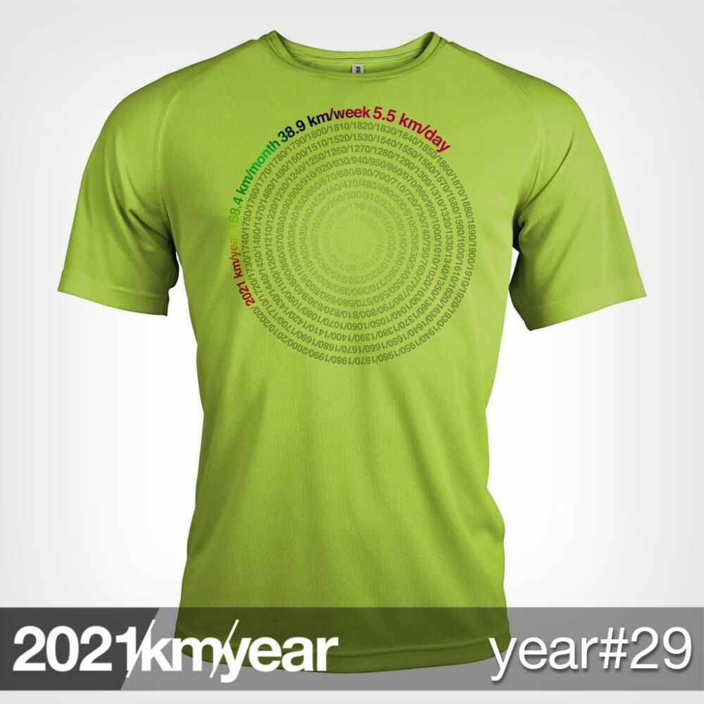 2021 / year / km - YEAR 30 t-shirt - MAN
