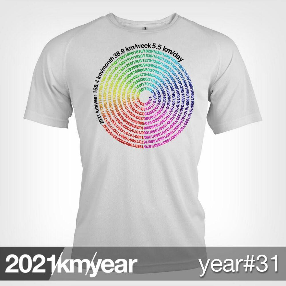 2021 / year / km - YEAR 31 t-shirt - MAN