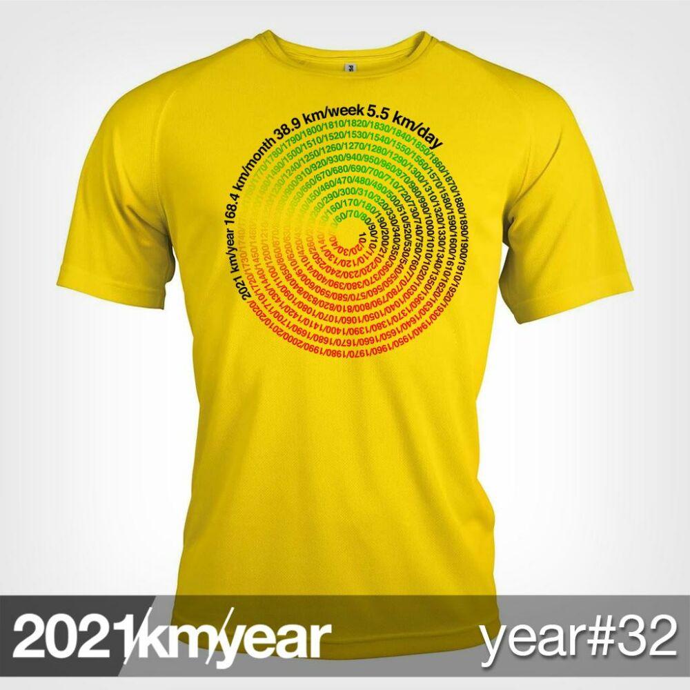 2021 / year / km - YEAR 32 t-shirt - MAN