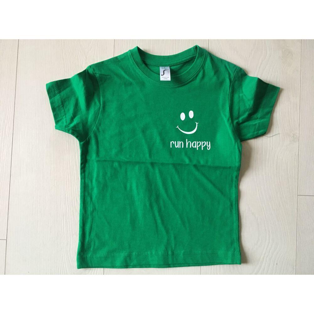 GYEREK - RUN HAPPY rövid ujjú póló