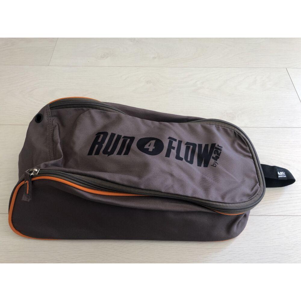 R4F cipőtartó táska, barna/narancs