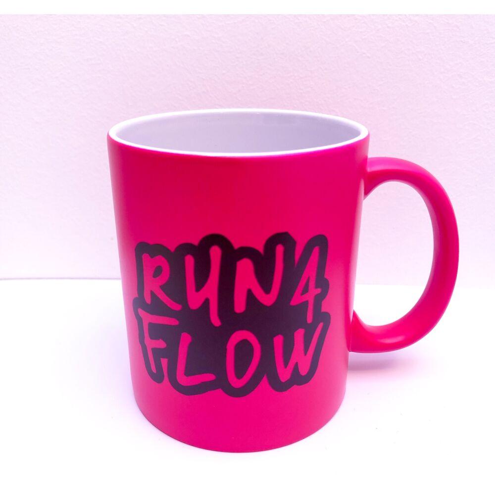 R4F neon bögre, pink