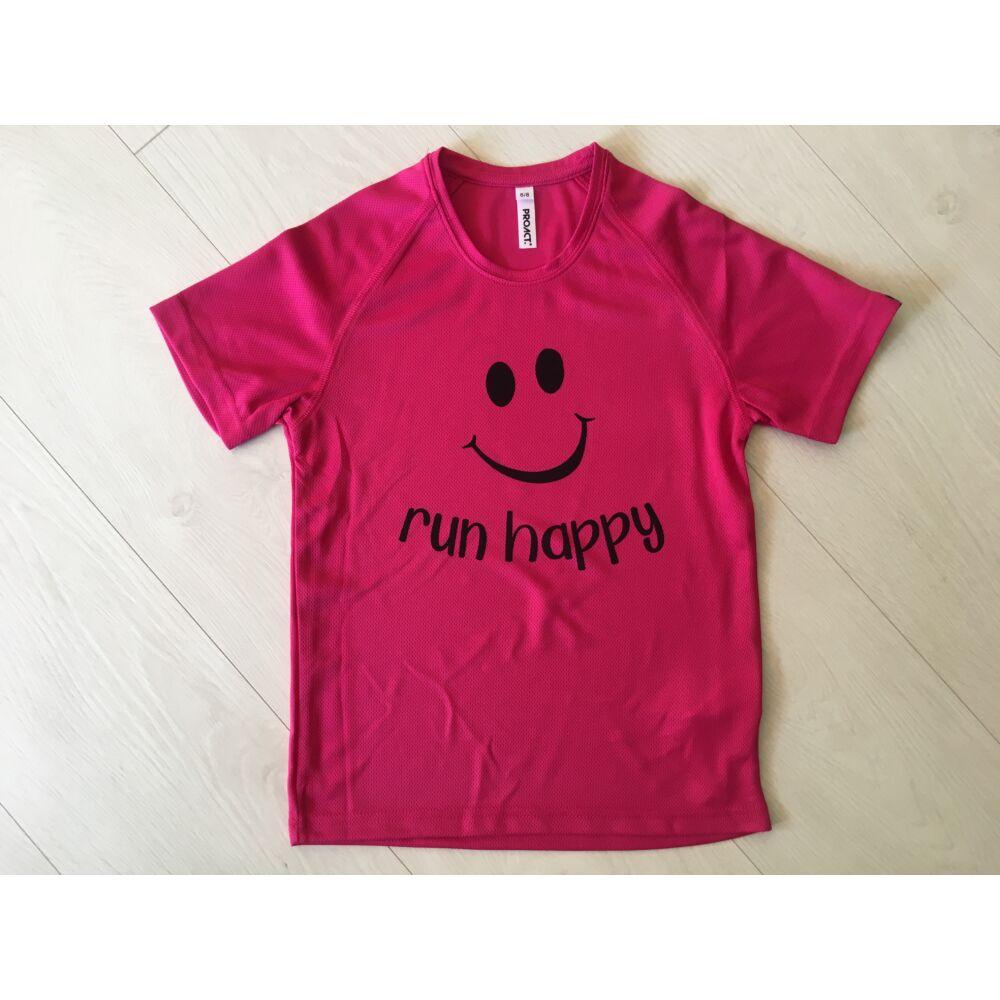 Run happy rövid ujjú póló