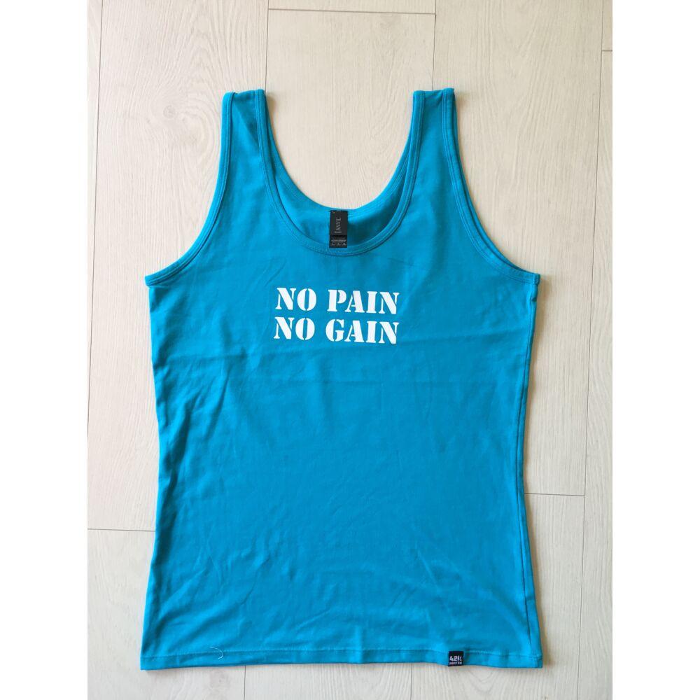 NŐI L méret - NO PAIN NO GAIN ujjatlan női felső