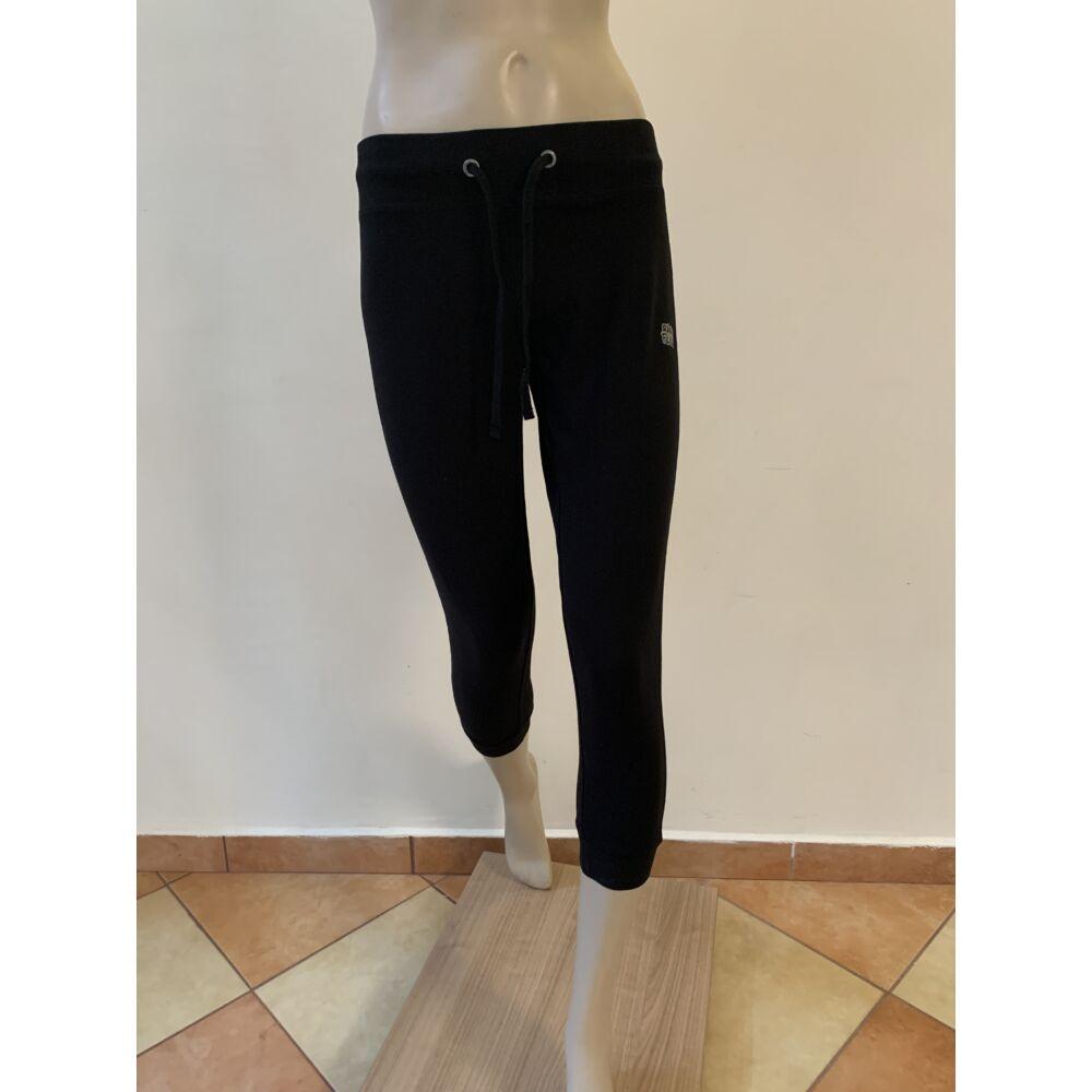 Fekete női szabadidő-nadrág - M -es