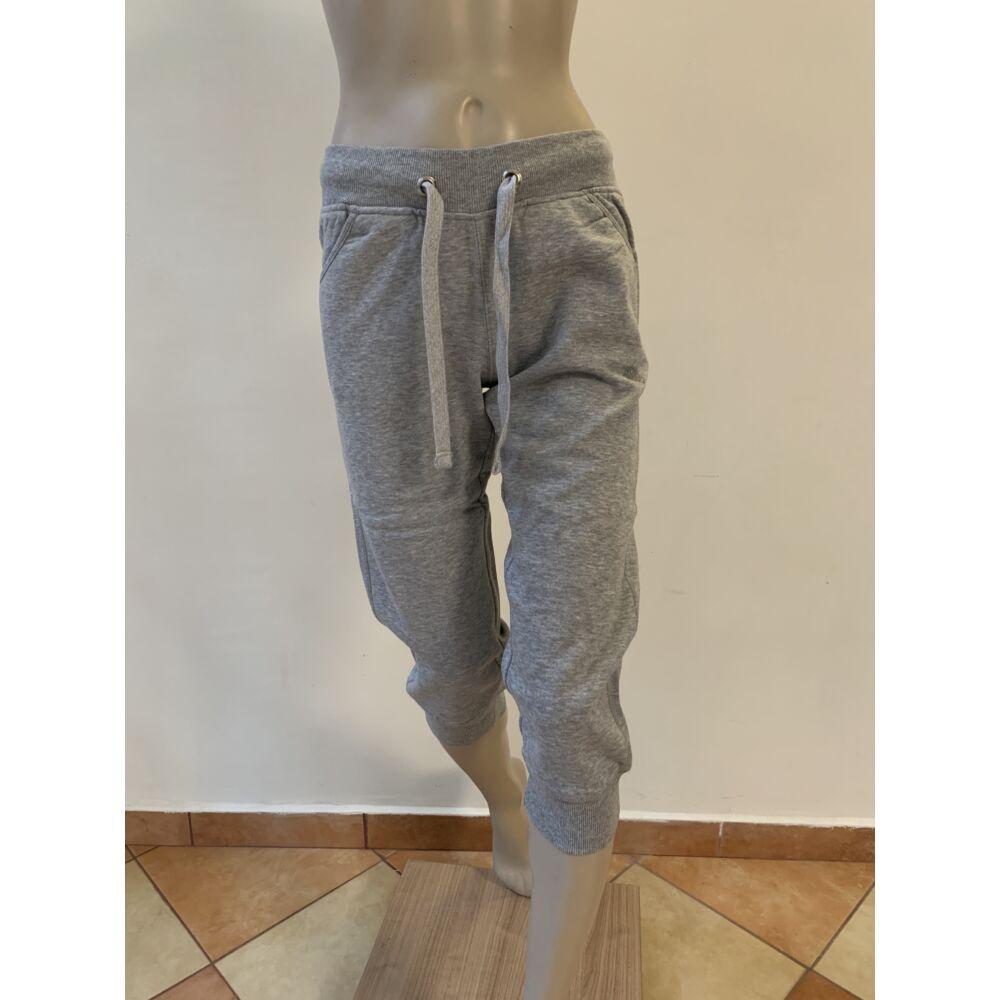 Szürke női szabadidő-nadrág - S -es
