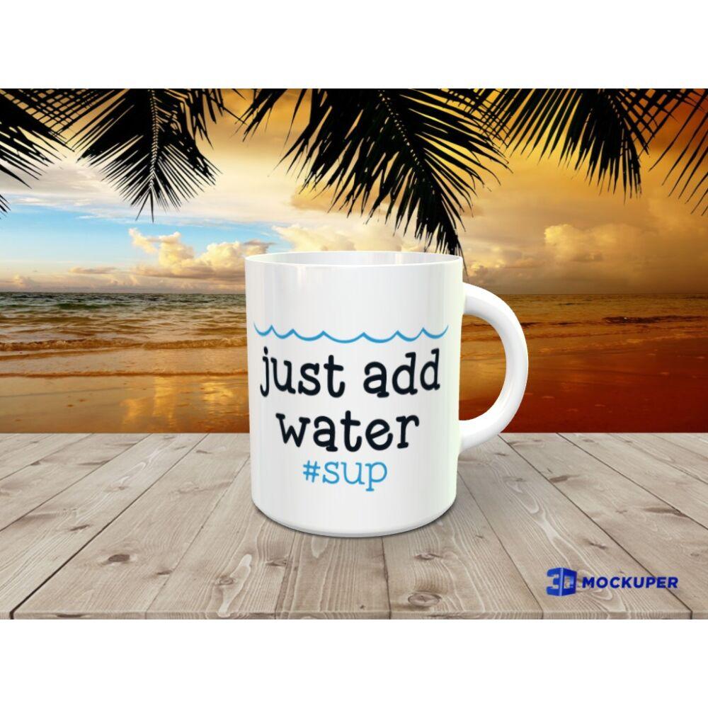 SUP bögre - ADD WATER