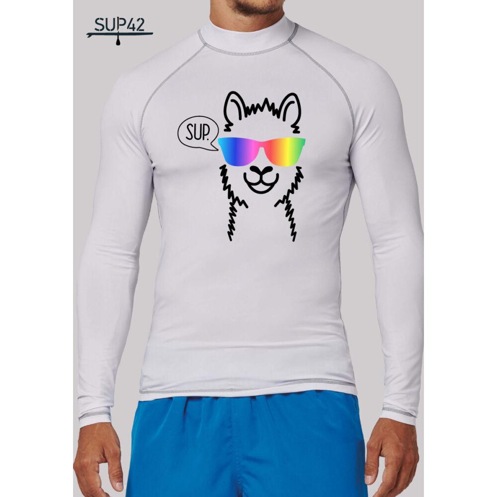 UV-védős hosszú ujjú SUP póló - Llama
