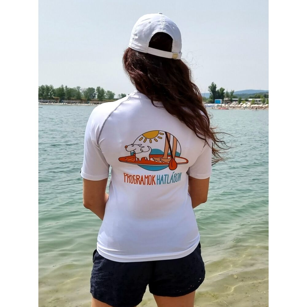 UV-védős rövid ujjú SUP póló - Programok Hatlábon