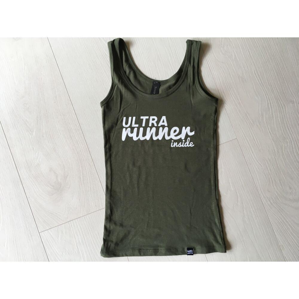 Ultra runner inside ujjatlan női felső