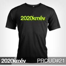 2020 / év / km - PROUD 21 póló - FÉRFI