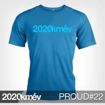 2020 / év / km - PROUD 22 póló - FÉRFI
