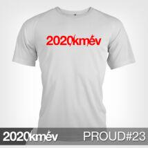 2020 / év / km - PROUD 23 póló - FÉRFI