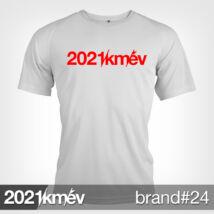 2021 / év / km - BRAND 24 póló - FÉRFI
